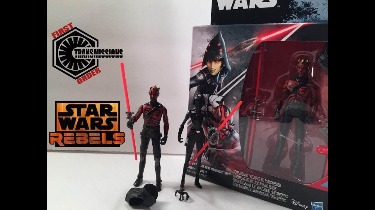 "DARTH MAUL vs SEVENTH SISTER Star Wars 3.75/"" Rogue One Rebels Set  RO-15"