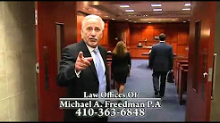 Law Office Michael A. Freedman- Baltimore, MD Auto Accident Lawyer