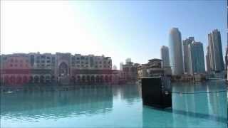 20130124 Dubai - Burj Khalifa and lake 1080p