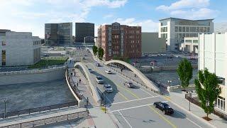 Time Lapse of Virginia Street Bridge Construction