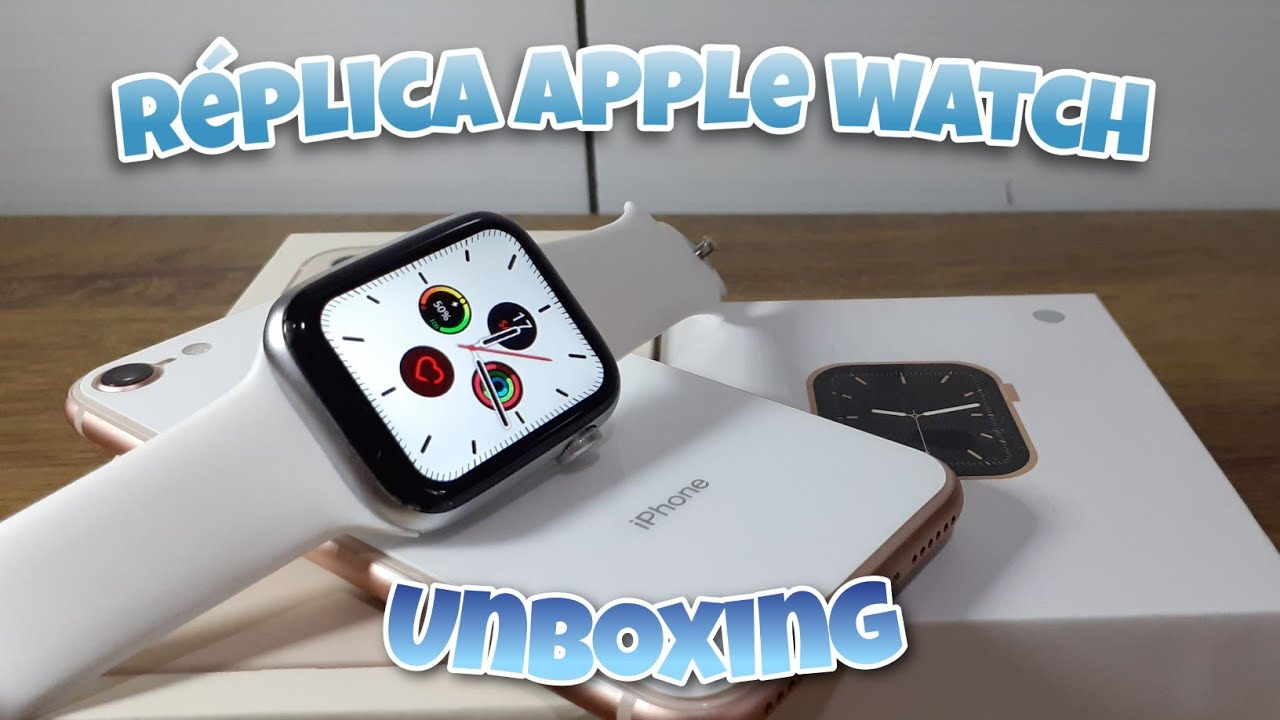 Smartwatch Iwo W26 - Aliexpress - Réplica do Apple Watch series 6