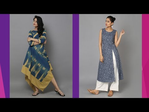 Latest Indo Western Kurti Designs 2018