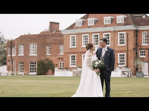 Stoke Place Wedding // Emma + Mark