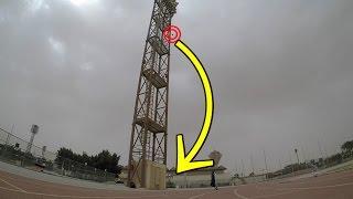 كنترول من اعلى مكان !! |  hallenge football Crossbar
