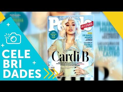 ¡Cardi B es la estrella del año para People En Español! | Un Nuevo Día | Telemundo