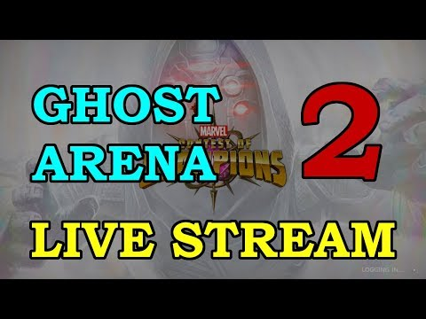 Ghost Arena - Round 2 - Part 2 | Marvel Contest of Champions Live Stream