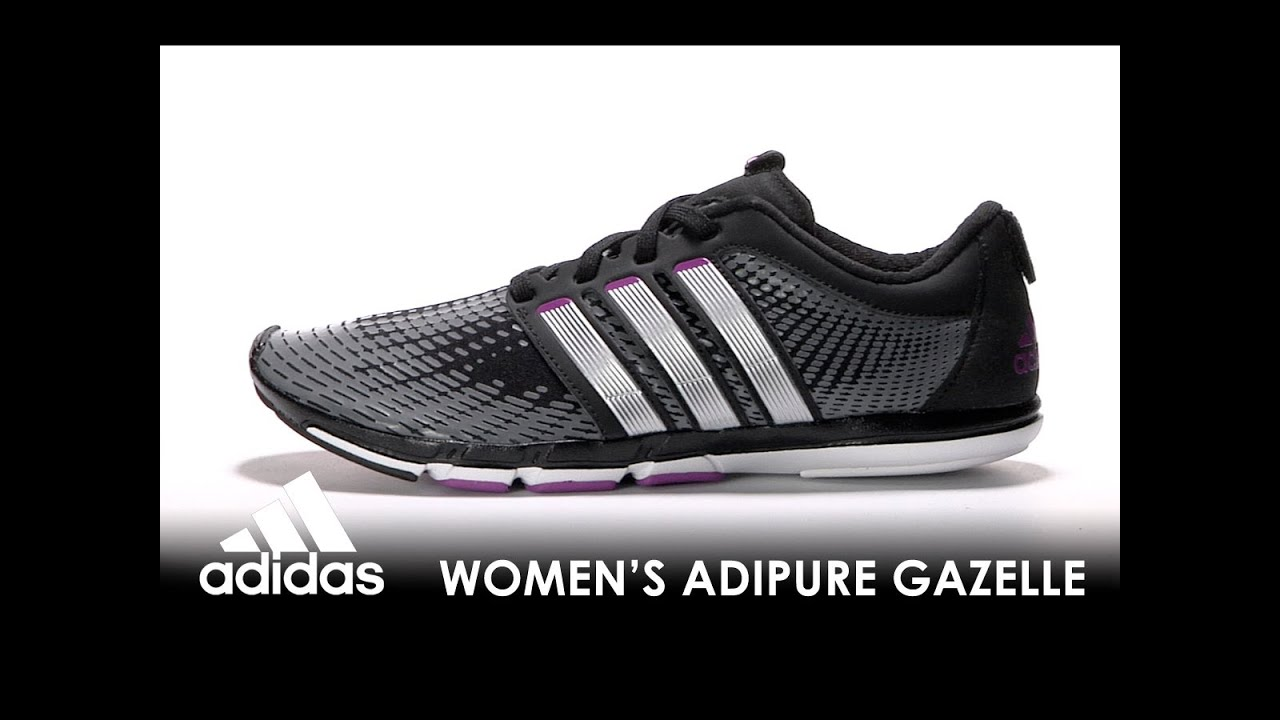 detailed look f642b 3141d Adidas Womens Adipure Gazelle