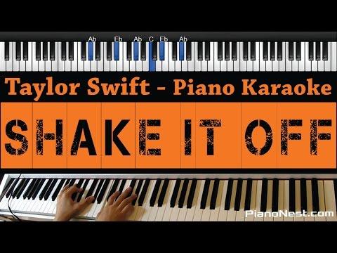 Taylor Swift - Shake it Off - Piano Karaoke / Sing Along
