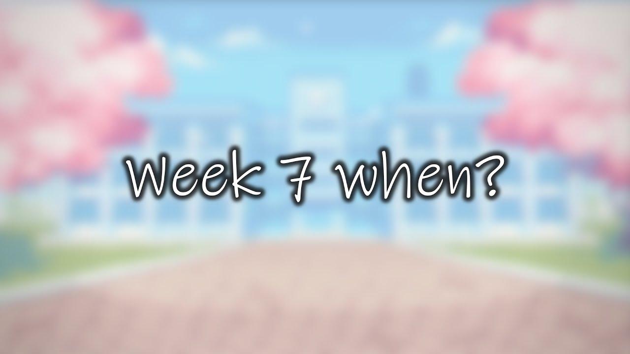 Where is Week 7?