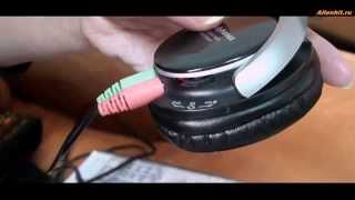 Наушники с MP3-плеером и FM-радио