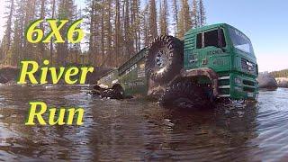 Rc Cwr Axial Rc4wd 6x6 River Run