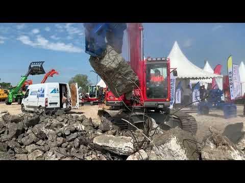 Cisaille de démolition CU022 mâchoire Broyeur Béton (BB) avec Arden Jet