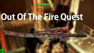 Fallout 4 How To Get Shishkebab Location Out Of The Fire Quest Line Location Guide