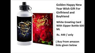 Happy new year gifts ideas for Girlfriend buy from  amazon discount rate