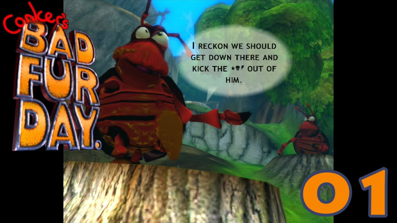 Let S Play Conker Live And Reloaded P1 Youtube