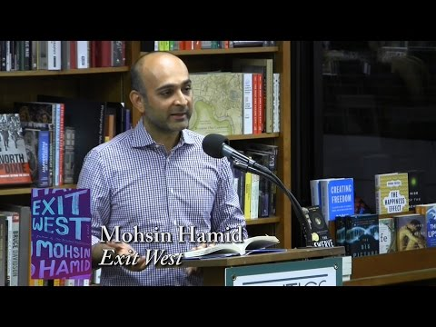 "Mohsin Hamid, ""Exit West"""
