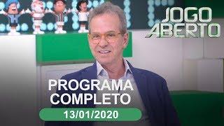 Jogo Aberto - 13/01/2020 - Programa completo