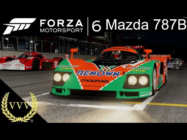 Forza 6 Gameplay Mazda 787B Spa
