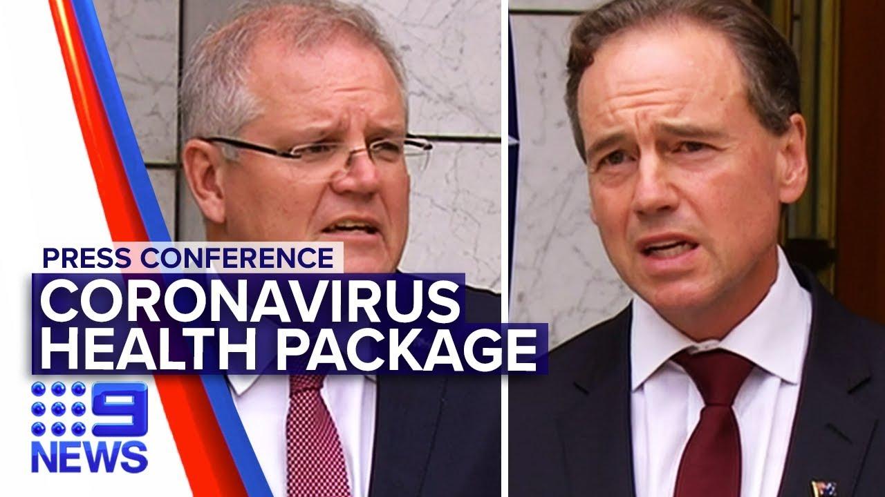 Coronavirus: PM and Health Minister announce billion dollar support | Nine News Australia – Nine News Australia