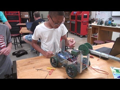 Summer Academy Middle School Robotics