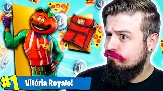 MITEI HORRORS WITH The NEW TOMATO HEAD SKIN (Fortnite Battle Royale)