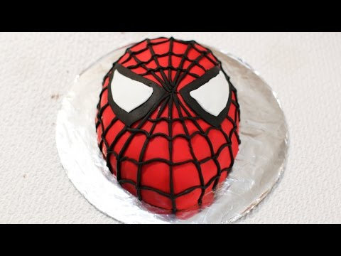 Spiderman Cake Tutorial - How to make a Spider-Man Cake