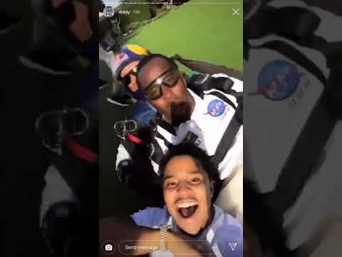 Diddy Goes Skydiving & Throws EPIC 49th Birthday Bash! GO INSIDE! Mp3