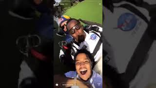 Diddy Goes Skydiving & Throws EPIC 49th Birthday Bash! GO INSIDE!