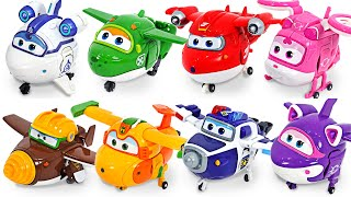 Super Wings Super Charge Transforming Paul, Jett! Go! | DuDuPopTOY