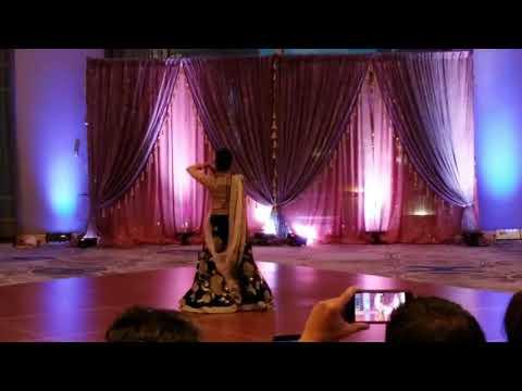 M bani teri radha ||| bridal dance ||| bridesmaid dance