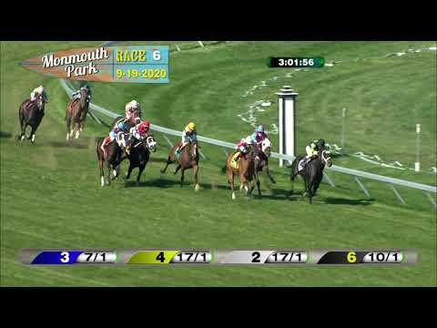 video thumbnail for MONMOUTH PARK 09-19-20 RACE 6