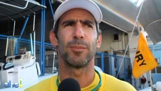 Baixar Atletas conhecem a raia olímpica na Semana Brasileira de Vela