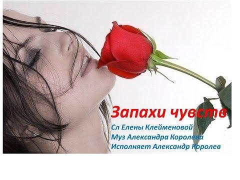 Запахи чувств сл Елены Клейменовой, муз Александра Королёва , исп Александр Королев