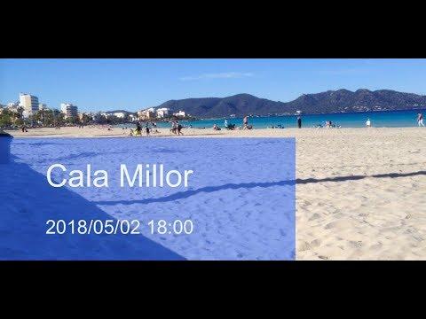 Cala Millor Beach 2018/05/02 18:00