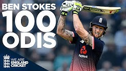 Ben Stokes Best Moments From 100 ODIs England Cricket