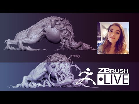 Ashley A. Adams  Creature & Character Concept Sculpting  Episode 37