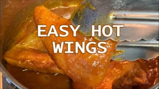 EASY HOT WINGS IN THE FRY DADDY | RICHARD IN THE KITCHEN