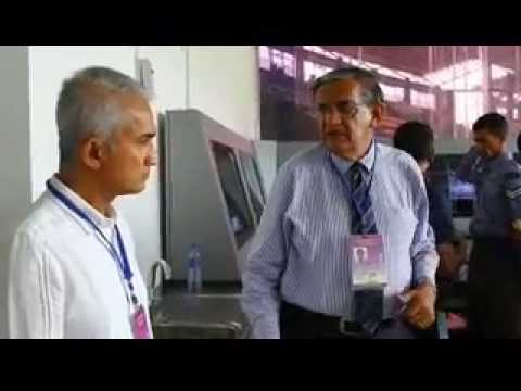 Sri lanka Cricket Chairman Sidath Wettimuny made a inspection of the media center