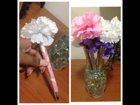 Diy Flower Pens Youtube
