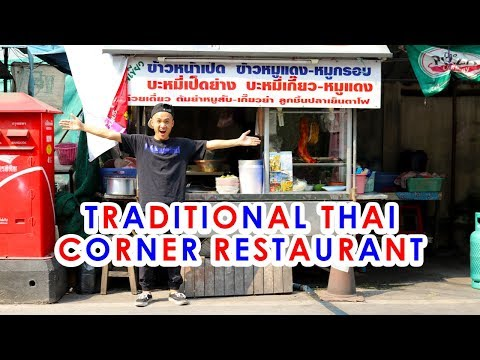 Bangkok STREET FOOD Restaurant! | AUTHENTIC Thai Food in Thailand