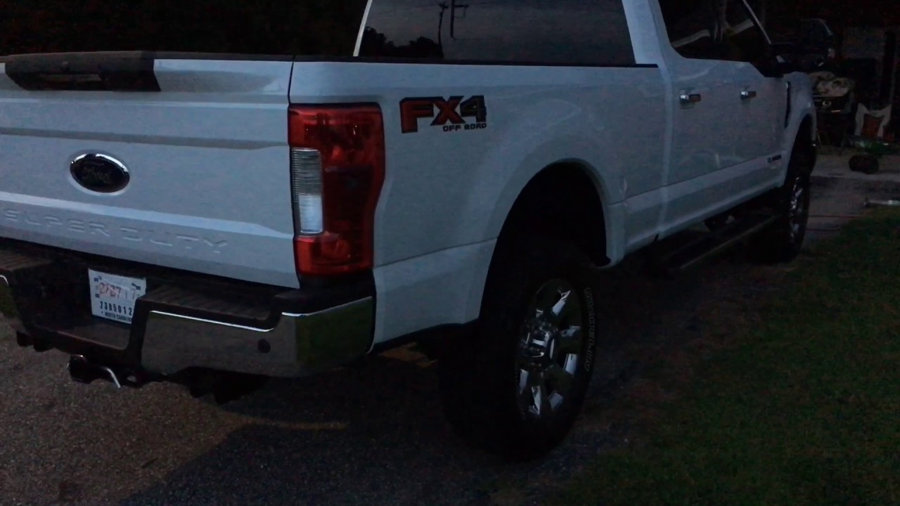 6 7 powerstroke with flopro exhaust