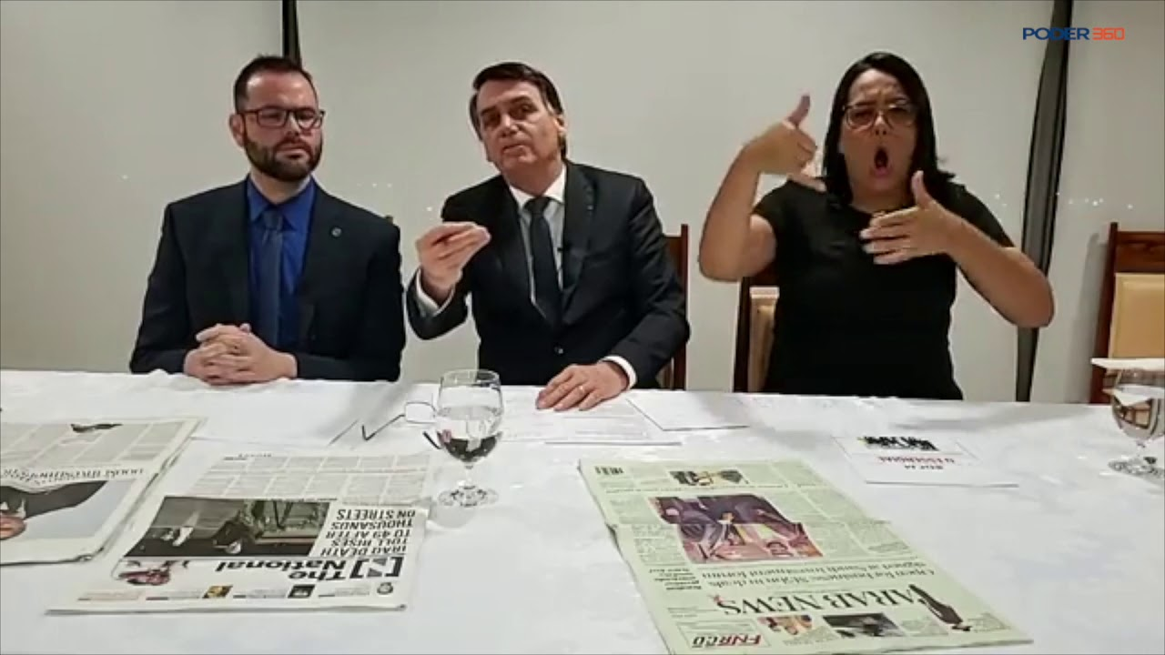 """""""Pague tudo o que deve"""", diz Bolsonaro sobre renovação de concessão da Globo\"""