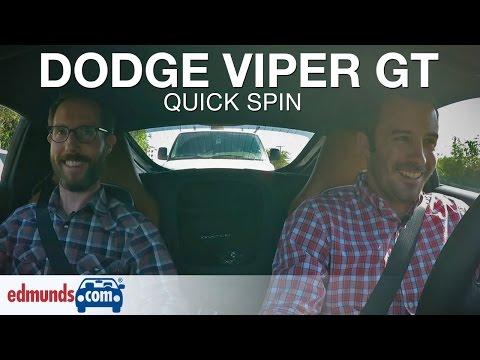 2015 Dodge Viper GT | Edmunds.com Quick Spin