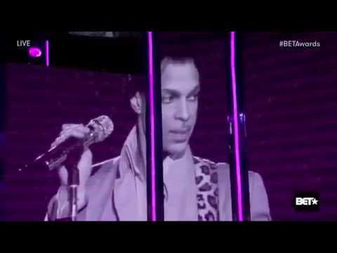 Jennifer Hudson Tribute to Prince Singing Purple Rain