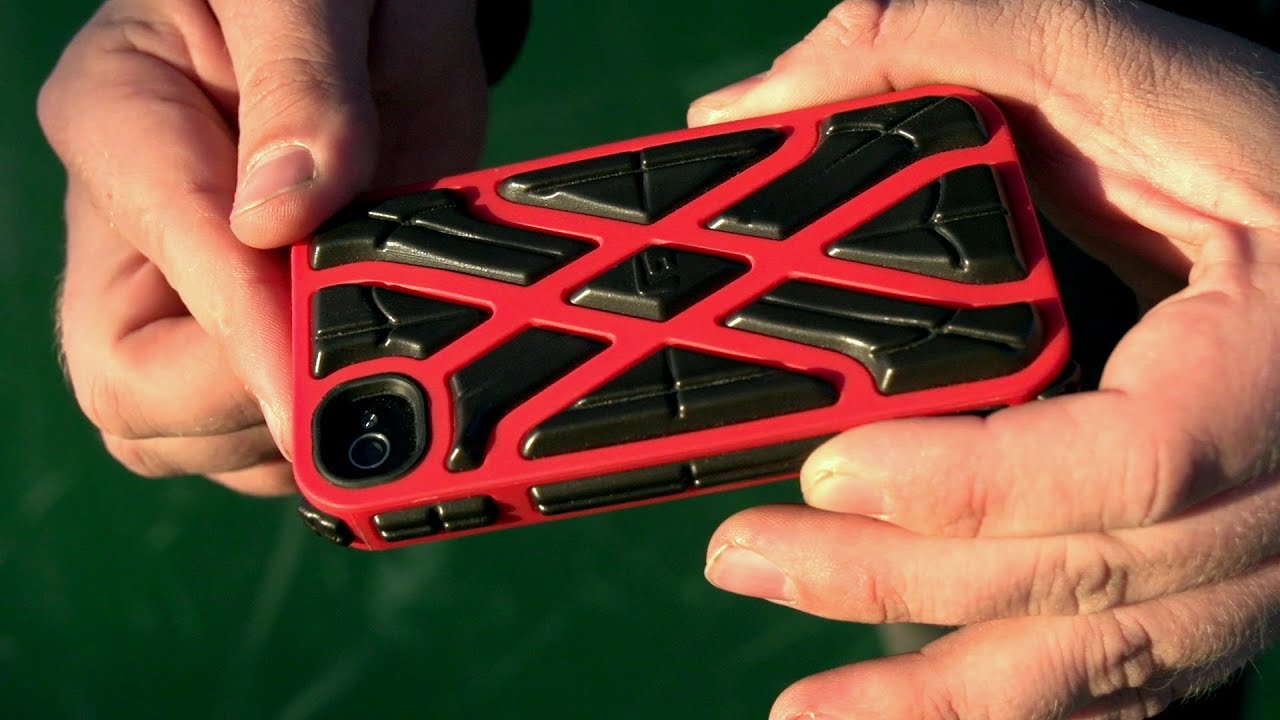 10 Foot Drop Test: G-Form iPhone Case - YouTube