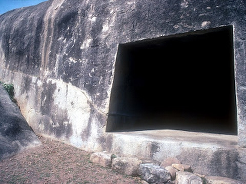 Mysterious Barabar caves India