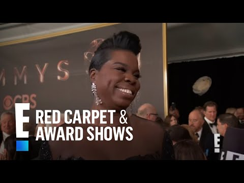 Leslie Jones Talks Emmy Nomination Against Kate McKinnon | E! Live from the Red Carpet