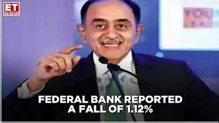 Earnings With ET NOW | Q2 Net Profit Misses Estimates | Shyam Srinivasan, Federal Bank