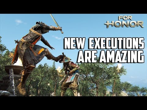 For Honor: New Executions Are Amazing !!