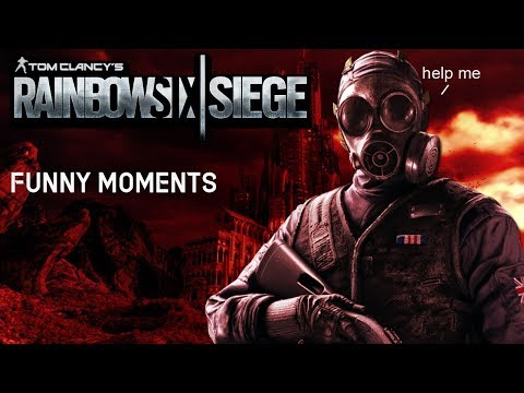 CANT MUTE FOR S**T - Rainbow Six Siege Gameplay Funny Moments Funtage (Rage Warning, lol)